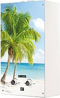Проточныйводонагреватель Zanussi GWH 10 Fonte Glass Paradiso -