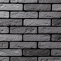 Декоративный камень Air Stone Токио угловой элемент А01.31.У (серый/темно-серый) -
