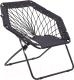 Кресло Halmar Widget (черный) -