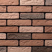 Декоративный камень Air Stone Токио угловой элемент А01.50.У (бордовый/коричневый) -