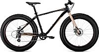 Велосипед Forward Bizon 26 / RBKW9W668002 (18, черный/бежевый) -