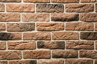Декоративный камень Petra Версальский кирпич 11П1 (кирпичный/серый/белый) -
