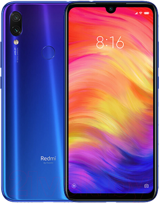 Смартфон Xiaomi Redmi Note 7 3Gb/32Gb (синий)