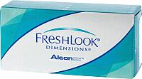 Контактная линза FreshLook Dimensions Голубая лазурь Sph-5.00 D14.5 -