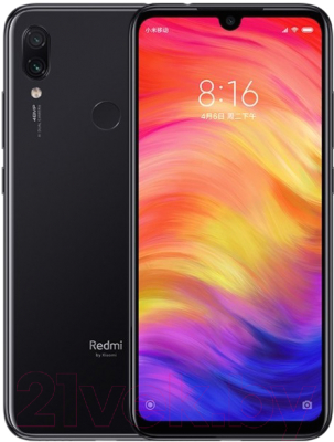 Смартфон Xiaomi Redmi Note 7 4Gb/64Gb (черный) -