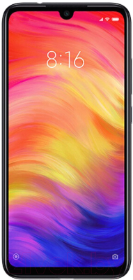 Смартфон Xiaomi Redmi Note 7 4Gb/64Gb (черный)