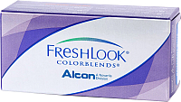 Контактная линза FreshLook Colorblends Бирюзовый Sph-2.50 D14.5 -