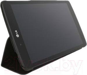 Чехол для планшета LG BookCover V490 (черный) - пример использования