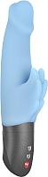 Вибратор Fun Factory Wicked Wings с клиторальными крылышками / 62804 (голубой) -
