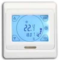 Терморегулятор для теплого пола Menred E91.716 с ЖКИ (16A) -