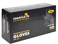 Перчатки хозяйственные CHAMALEON Nitrile Gloves L / 48802 (100шт) -