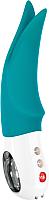 Вибратор Fun Factory Volta с раздвоенным кончиком / 73927 (бирюзовый) -