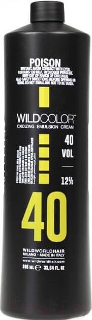 Эмульсия для окисления краски Wild Color, Oxidizing Emulsion Cream 40Vol (995мл), Италия  - купить со скидкой