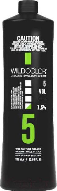 Купить Эмульсия для окисления краски Wild Color, Oxidizing Emulsion Cream 5Vol (995мл), Италия