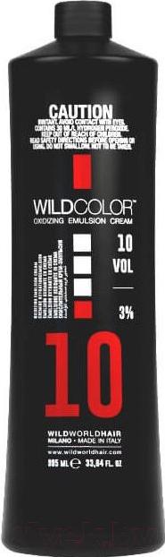 Купить Эмульсия для окисления краски Wild Color, Oxidizing Emulsion Cream 10Vol (995мл), Италия