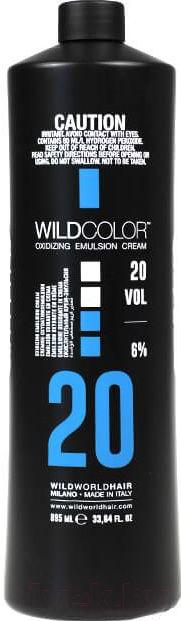 Купить Эмульсия для окисления краски Wild Color, Oxidizing Emulsion Cream 20Vol (995мл), Италия
