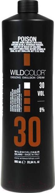 Купить Эмульсия для окисления краски Wild Color, Oxidizing Emulsion Cream 30Vol (995мл), Италия