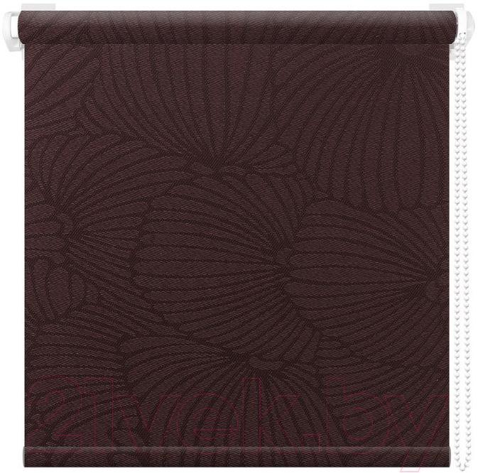 Рулонная штора АС ФОРОС, Тати 8454 48x175 (шоколад), Россия, ткань  - купить со скидкой