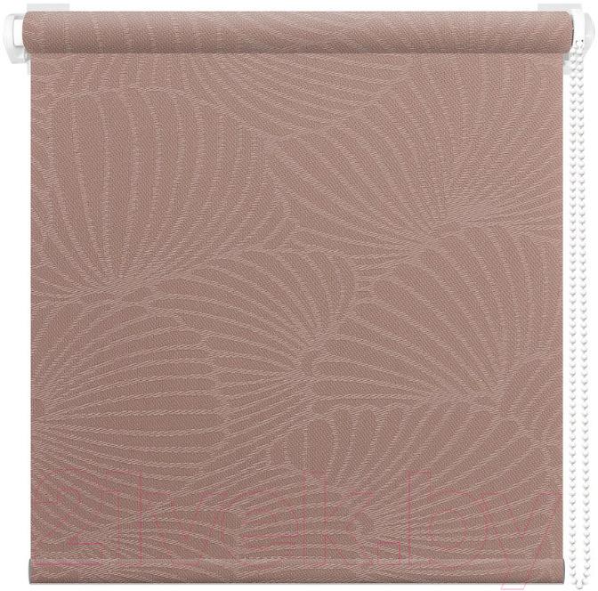 Рулонная штора АС ФОРОС, Тати 8455 43x175 (пыльная роза), Россия, ткань  - купить со скидкой