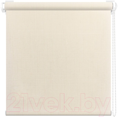Рулонная штора АС ФОРОС Шатунг 8000 67x160 (кремовый)