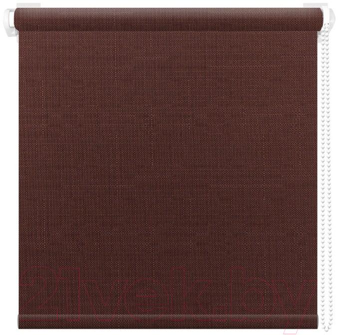 Рулонная штора АС ФОРОС, Шатунг 8005 43x160 (шоколад), Россия, ткань  - купить со скидкой
