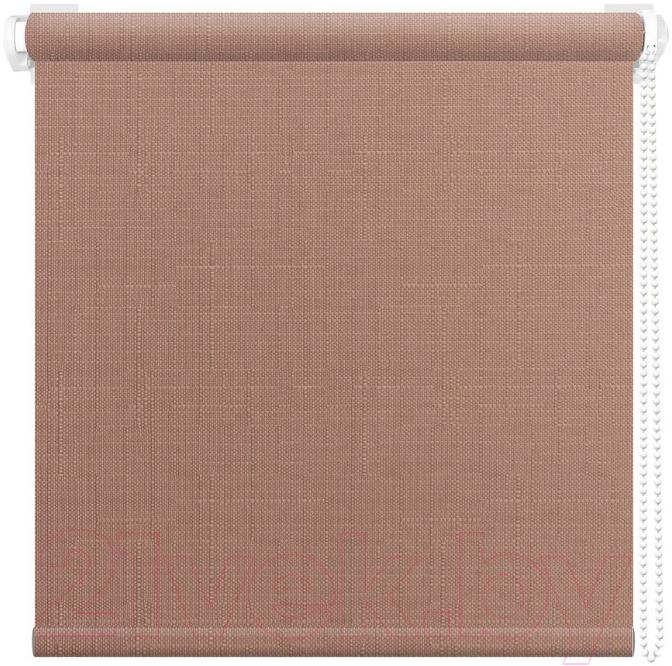 Рулонная штора АС ФОРОС, Шатунг 8007 38x160 (какао), Россия, ткань  - купить со скидкой