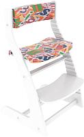Подушка на стул Бельмарко Усура Азбука / 143 (белый) -