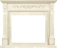 Портал для камина Смолком Soho SYM 26 (белый дуб) -