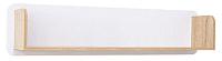 Полка SV-мебель Гостиная Нота 25 (дуб сонома/белый глянец) -