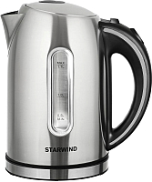 Электрочайник StarWind SKS4210 (нержавеющая сталь) -