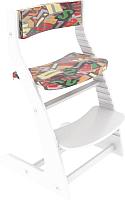 Подушка на стул Бельмарко Усура Азбука / 145 (сиреневый) -