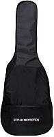 Чехол для гитары Emuse AGB 41-3 (черный) -