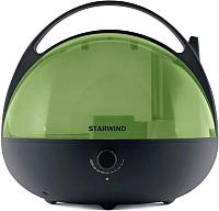 Ультразвуковой увлажнитель воздуха StarWind SHC3415 (черный/зеленый) -