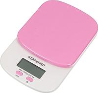 Кухонные весы StarWind SSK2157 (розовый) -
