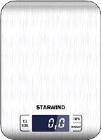 Кухонные весы StarWind SSK6673 (серебристый) -
