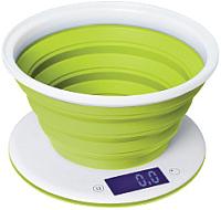 Кухонные весы StarWind SSK5575 (белый/зеленый) -