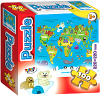 Пазл Topgame Карта мира / 01441 -