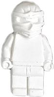 Магнит декоративный Нашы майстры Лего / 2138 (белый) -