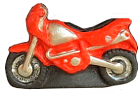 Магнит декоративный Нашы майстры Мотоцикл / 2129 (декорированный) -