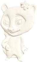Магнит декоративный Нашы майстры Иви.Viber / 2127 (белый) -