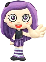 Магнит декоративный Нашы майстры Девочка Violet.Viber / 2126 (декорированный) -