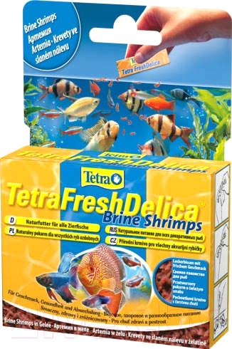 Купить Корм для рыб Tetra, Fresh Delica Brine Shrimps 708986/768673 (48г), Германия