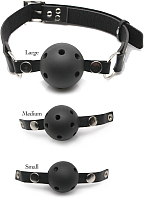 Кляп-шар Pipedream Ball Gag Training System / 7084 (из 3 шариков) -