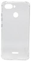 Чехол-накладка Case Shockproof для Redmi 6 (прозрачный) -
