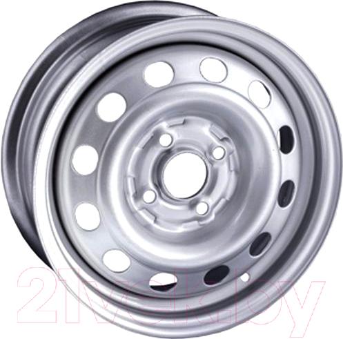 Купить Штампованный диск Steger, 5990ST 14x5.5 4x108мм DIA 65.1мм ET 34мм Silver, Россия