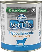 Корм для собак Farmina Vet Life Hypoallergenic Fish & Potato (300г) -