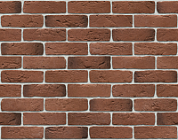 Декоративный камень Stone Mill Кирпич Шамотный ПГД-1-Л 0305 (темная охра) -