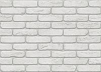 Декоративный камень Stone Mill Кирпич Лофтбрик ПГД-1-Л 1100 (белый) -
