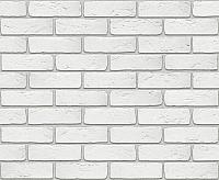 Декоративный камень Stone Mill Кирпич Шамотный ПГД-1-Л 0300 (белый) -
