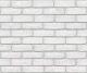 Декоративный камень Stone Mill Кирпич Старый ПГД-1-Л 0600 (белый) -
